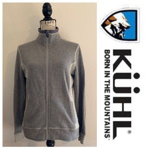KUHL Women's Full Zip Chianti Fleece M